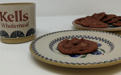 Introducing a new bakery treat – Red velvet thins
